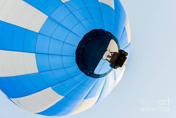 Photograph - Light Blue Ballooning by Anthony Sacco