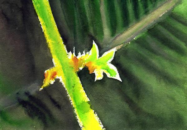 Painting - Light Branch by Anil Nene