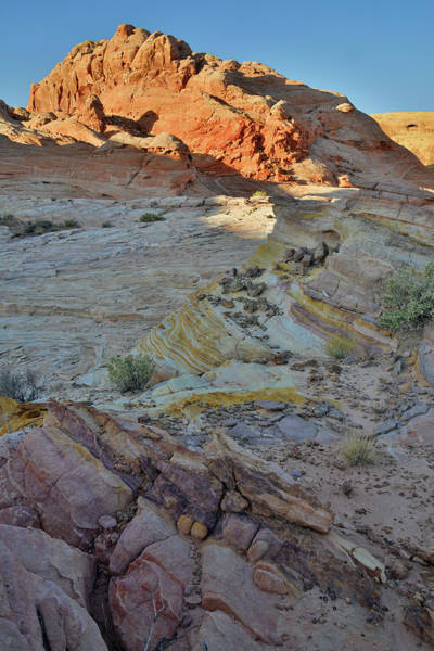 Photograph - Light Coming In Valley Of Fire by Ray Mathis