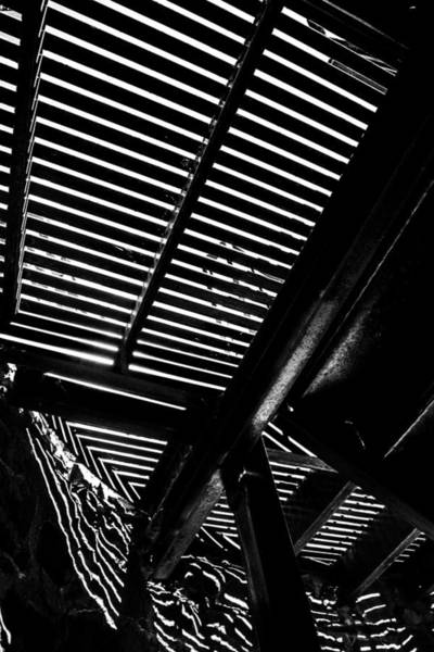 Thru Photograph - Light Falls Thru by Karol Livote