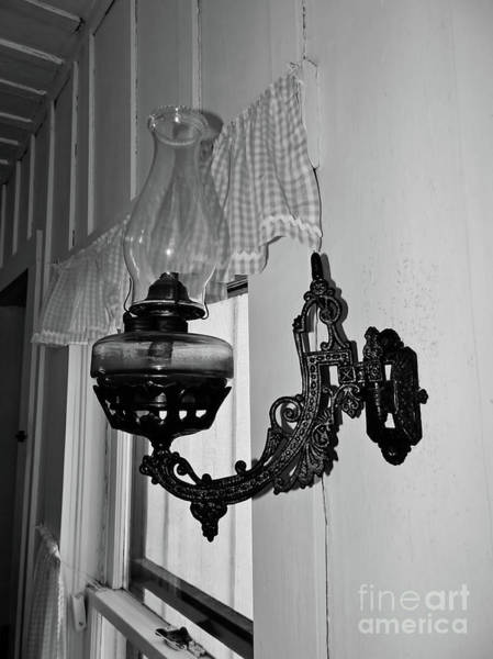 Photograph - Light From The Past B W by D Hackett