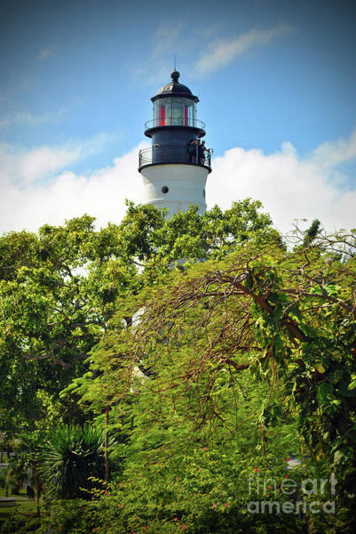 Photograph - Light House Of Key West by Jost Houk