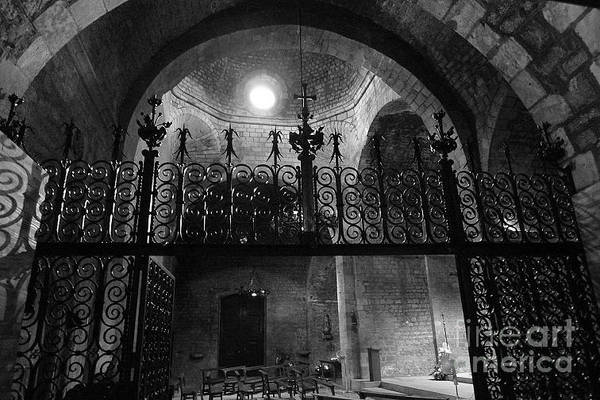 Photograph - Light In A Church / Barcelona by Karina Plachetka