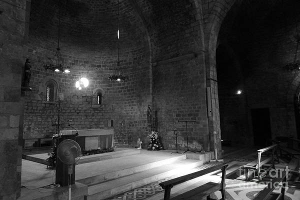 Photograph - Light In A Church2 / Barcelona by Karina Plachetka