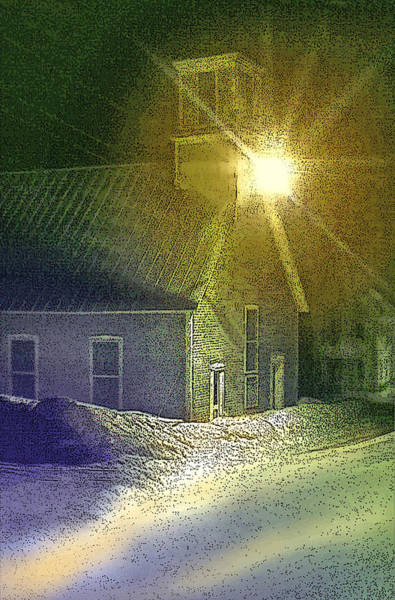 Photograph - Light In The Night by Nancy Griswold
