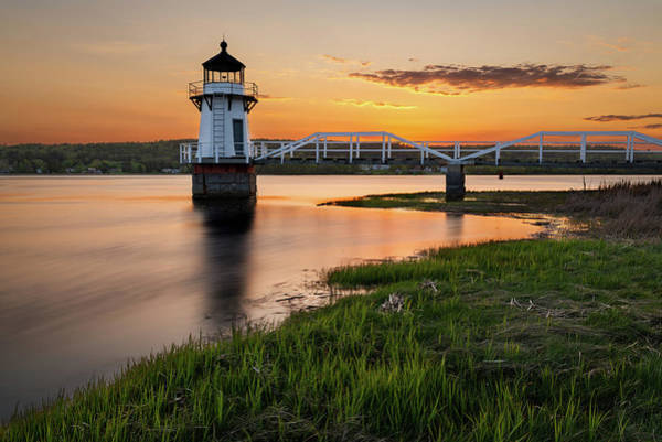 Photograph - Light In The River by Michael Blanchette