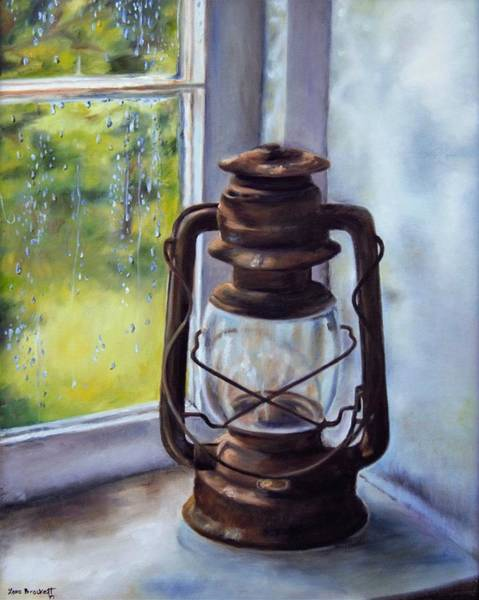 Painting - Light In The Window by Lori Brackett