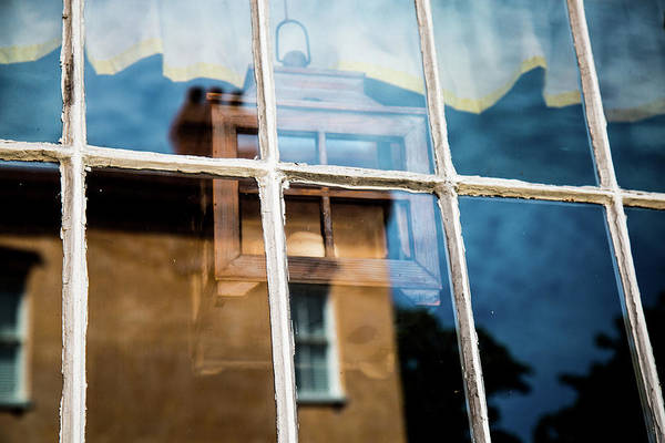 Photograph - Window Lantern Charleston, Sc by Donnie Whitaker