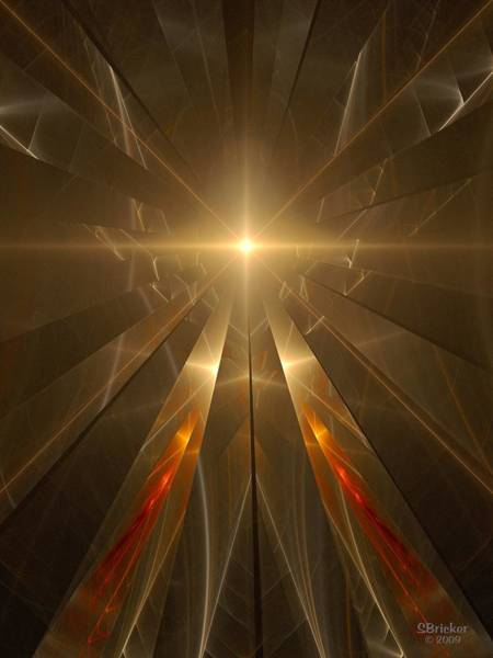 Skeptic Wall Art - Digital Art - Light Of Anra Anna by Scott  Bricker