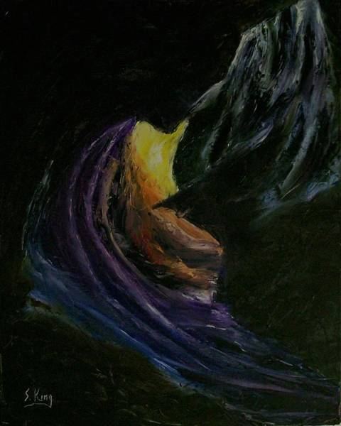 Stephen King Painting - Light Of Day by Stephen King