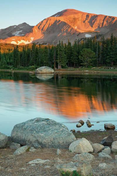 Light Of The Mountain Art Print