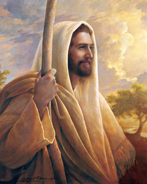 Jesus Wall Art - Painting - Light Of The World by Greg Olsen