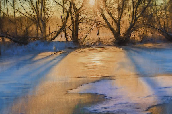 Photograph - Light On Ice Artistic  by Leif Sohlman