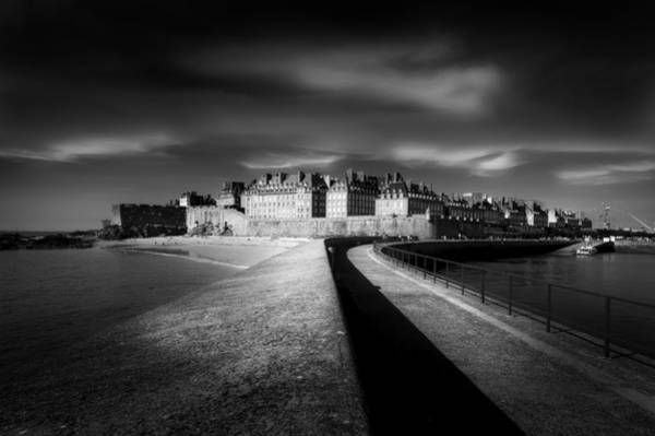 Saint Wall Art - Photograph - Light On Saint-malo by Puget Kevin