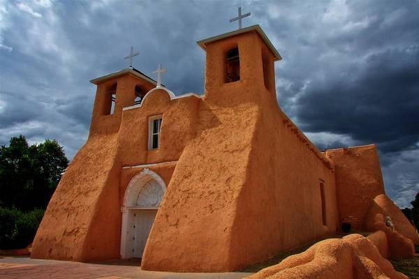Photograph - Light On San Francisco De Asisi Church, Taos, New Mexico by Flying Z Photography by Zayne Diamond