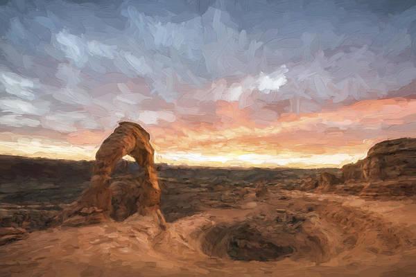 Digital Art - Light On The Arch II by Jon Glaser