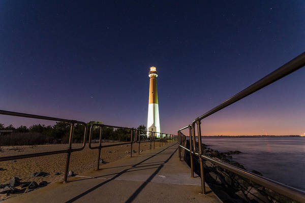 Barnegat Lighthouse Photograph - Light On The Bay by Kristopher Schoenleber