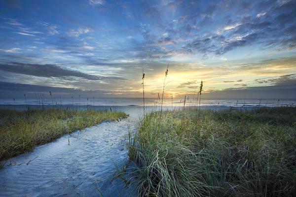 Boynton Photograph - Light On The Dunes by Debra and Dave Vanderlaan