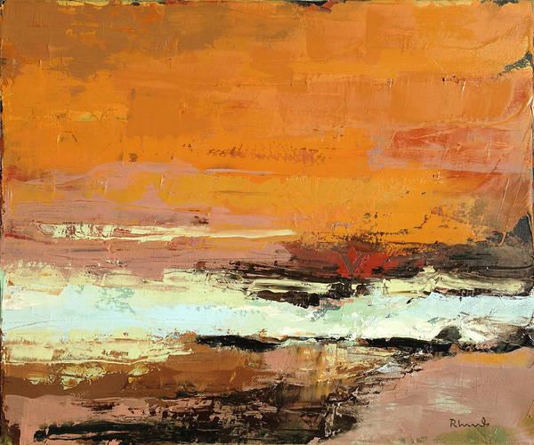 Aurora Borealis Painting - Light On The Horizon by Nathan Rhoads