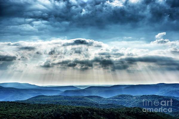 Photograph - Light Rains Down by Thomas R Fletcher