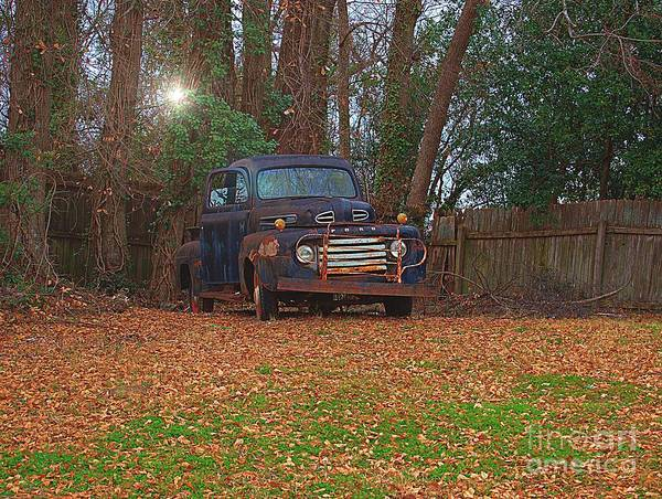 Conyers Photograph - Sunlight Shines On Old Classic by Cory Brewington
