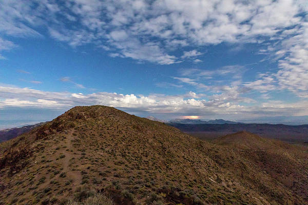 Photograph - Light Show Over The Amargosa Range by M C Hood