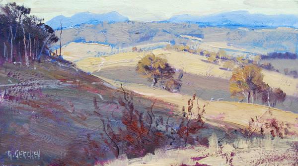Summer Scene Painting - Light Study by Graham Gercken