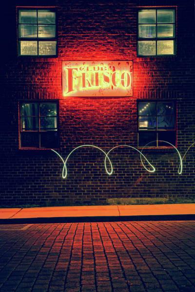 Photograph - Light Swirls - Rogers Arkansas by Gregory Ballos