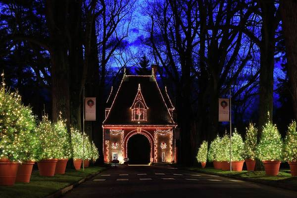 Photograph - Light Up The Holidays At Biltmore by Carol Montoya