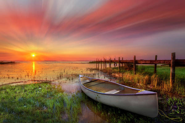 Photograph - Light Up The Morning With Color Dreamscape by Debra and Dave Vanderlaan