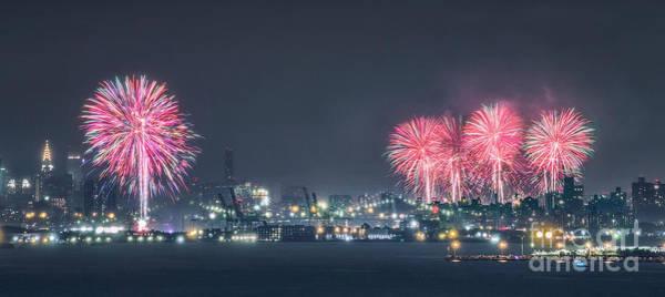 Fireworks Photograph - Light Up The Sky by Evelina Kremsdorf