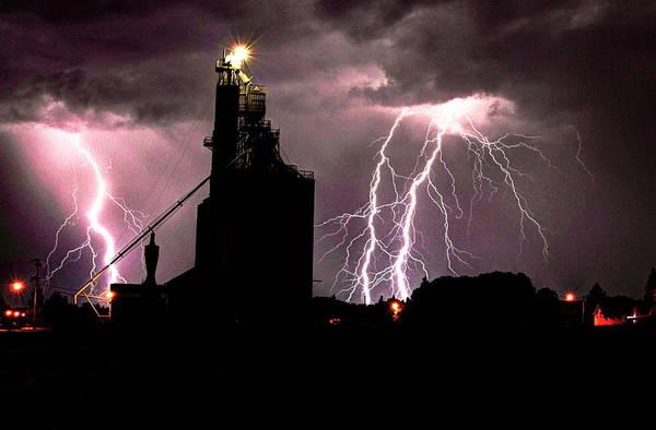 Photograph - Lightening Bolts by David Matthews