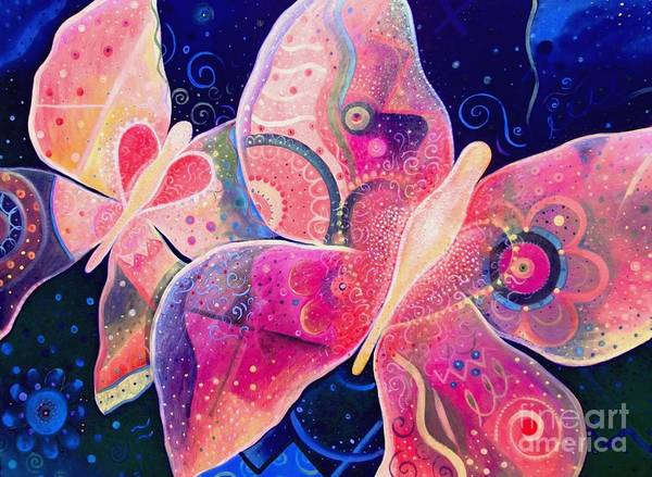 Mixed Media - Lighthearted In Full Spectrum by Helena Tiainen