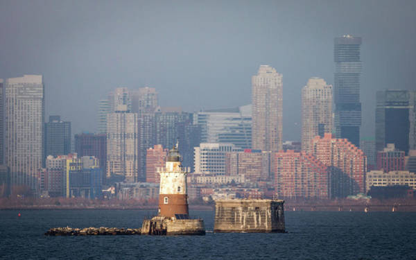 Photograph - Lighthouse And New Jersey by Framing Places
