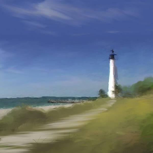 Wall Art - Digital Art - Lighthouse by Anthony Fishburne