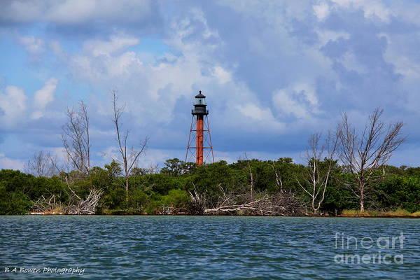 Photograph - Lighthouse At Anclote Key by Barbara Bowen