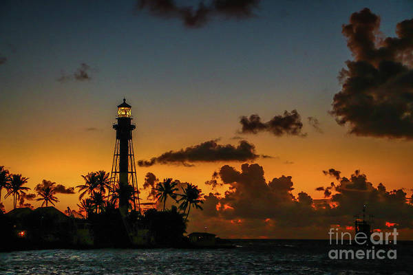 Photograph - Lighthouse At Dawn #2 by Tom Claud