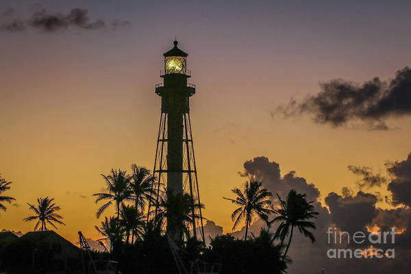 Photograph - Lighthouse At Dawn #3 by Tom Claud