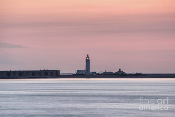 Photograph - Lighthouse At Hurst Castle by Clayton Bastiani