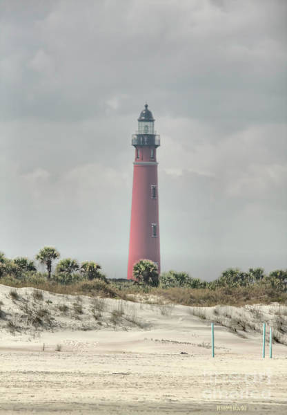 Photograph - Lighthouse At Ponce Inlet by Deborah Benoit