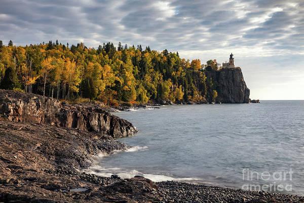 Northern Minnesota Wall Art - Photograph - Lighthouse Autumn by Ernesto Ruiz