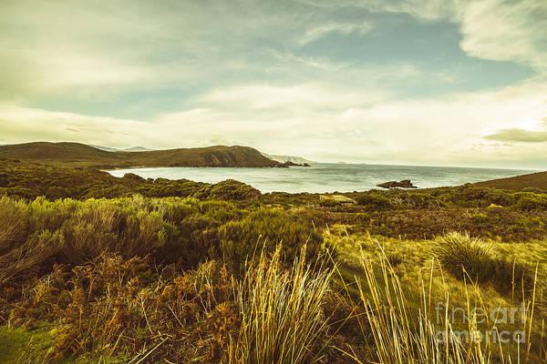 Foreshore Photograph - Lighthouse Bay Beach Bruny Island by Jorgo Photography - Wall Art Gallery