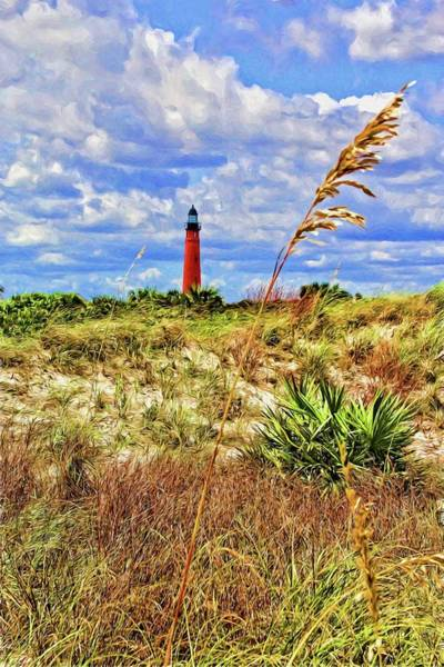 Photograph - Lighthouse Beach Grasses by Alice Gipson