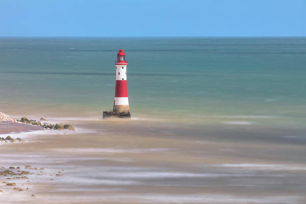 Wall Art - Photograph - Lighthouse Beachy Head - England by Joana Kruse