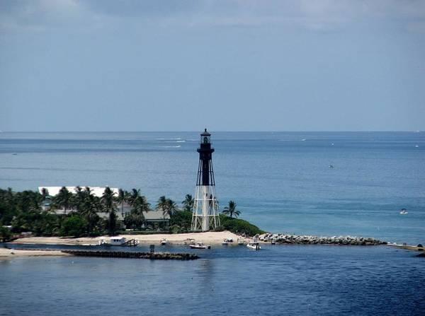 Photograph - Lighthouse Blue by Corinne Carroll