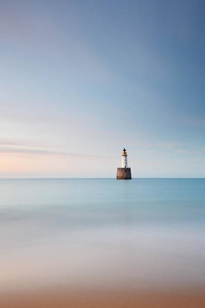 Photograph - Lighthouse Blues by Grant Glendinning