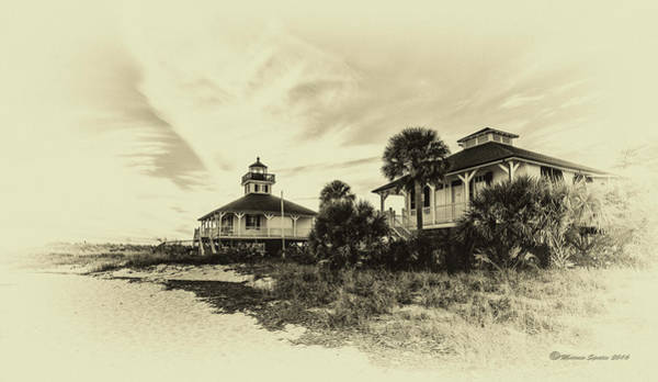 Wall Art - Photograph - Lighthouse Boca Grande by Marvin Spates