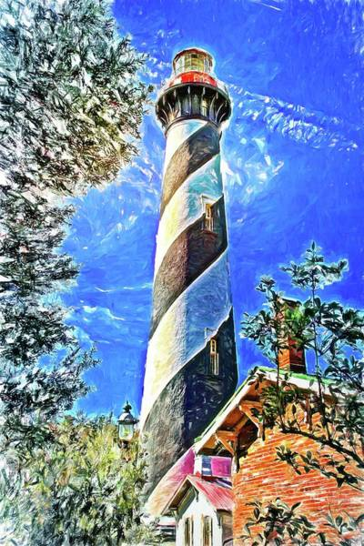 Photograph - Lighthouse Close Up by Alice Gipson