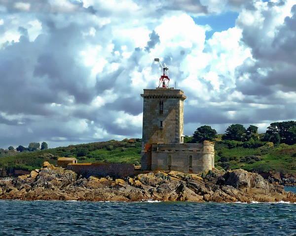 Photograph - Lighthouse Ile Noire by Anthony Dezenzio