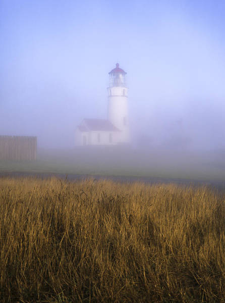 Photograph - Lighthouse In The Fog by Robert Potts